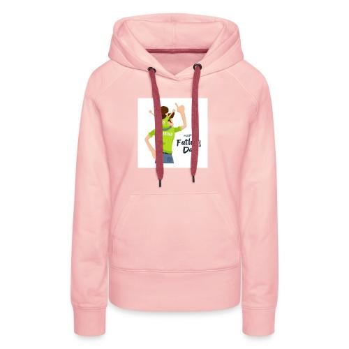 Pngtree precious happy moment with superdad 35709 - Sweat-shirt à capuche Premium pour femmes