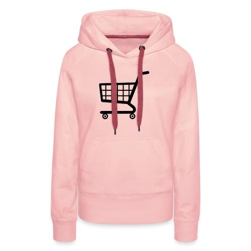 shopping cart png i8 png - Women's Premium Hoodie