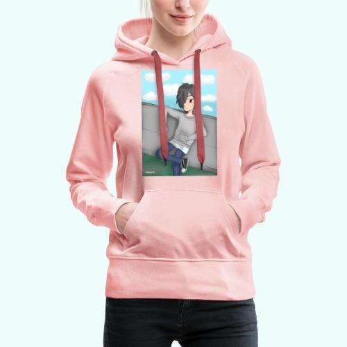 Nathan - Sudadera con capucha premium para mujer