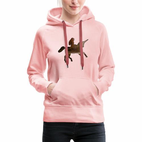 La Licorne - J'peux pas j'ai Licorne - Sweat-shirt à capuche Premium pour femmes