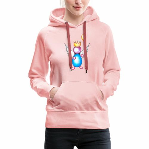 Mettalic Angel geluk - Vrouwen Premium hoodie