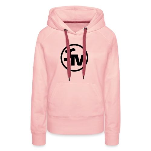 JonnyTeeVee Logo (Black) - Women's Premium Hoodie