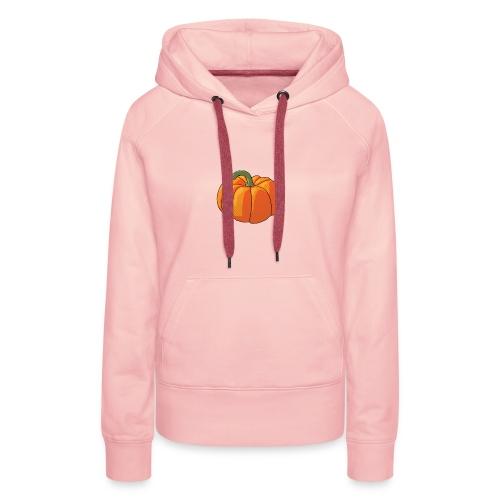 Pumpkin - Felpa con cappuccio premium da donna