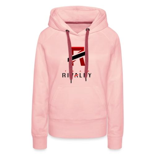TeamRivalry black bar design - Frauen Premium Hoodie