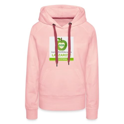 CCD LANZAROTE - Sudadera con capucha premium para mujer