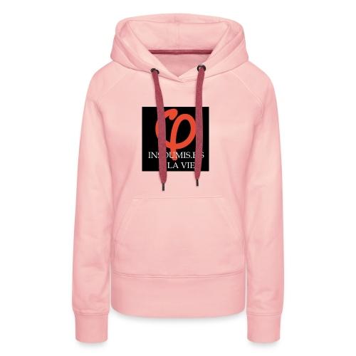 insoumis.e.s - Sweat-shirt à capuche Premium pour femmes