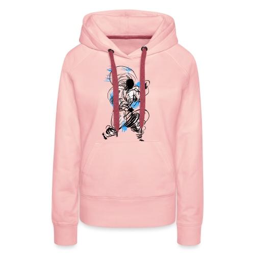 Kung Fu wizard - Women's Premium Hoodie