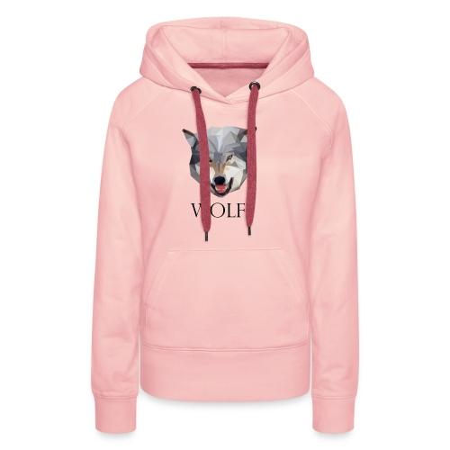 Wolff tshirt Ladies - Vrouwen Premium hoodie