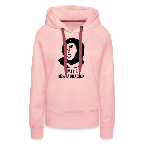 Monkey Chésus - Male - with text - Women's Premium Hoodie
