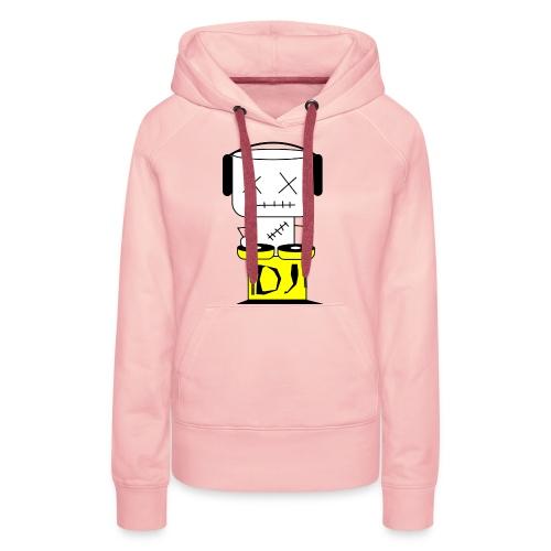 DJ Puppet XL - Frauen Premium Hoodie