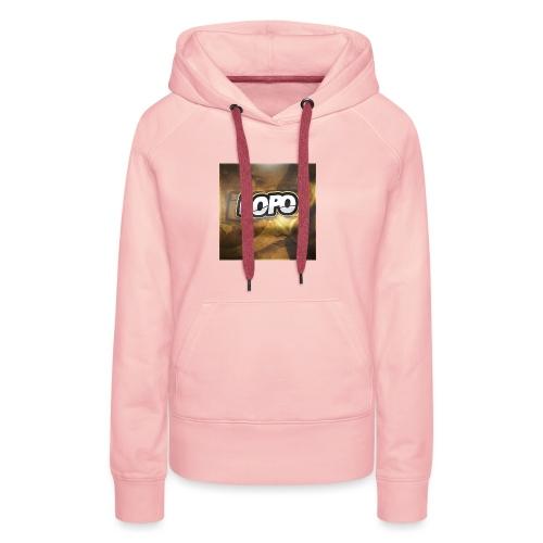 LoPo - Sweat-shirt à capuche Premium pour femmes