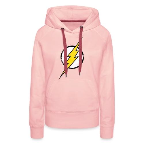 DC Comics Justice League Flash Logo - Frauen Premium Hoodie