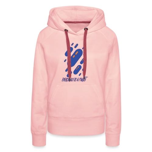 party day - Sweat-shirt à capuche Premium pour femmes