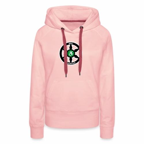 RSClogoRandweissDick - Frauen Premium Hoodie