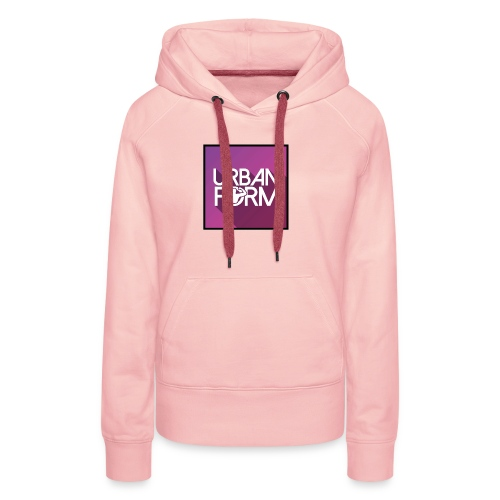 Logo URBAN FORM - Sweat-shirt à capuche Premium pour femmes