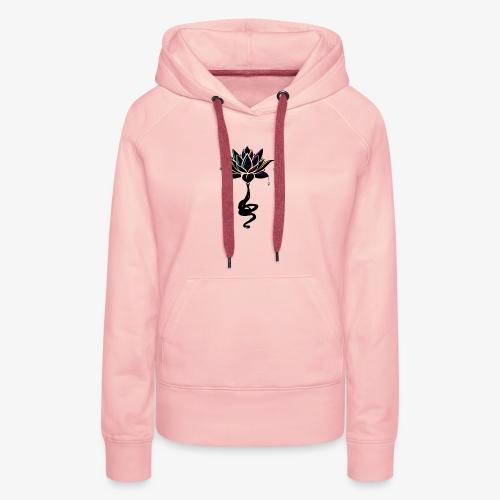 Marie - Lotus - Sweat-shirt à capuche Premium pour femmes