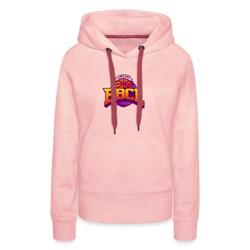 BasketBall du Canton de Limours - Sweat-shirt à capuche Premium pour femmes