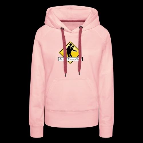 never forget to fuck 8 - Sweat-shirt à capuche Premium pour femmes