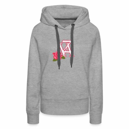 Rose of life - Sweat-shirt à capuche Premium pour femmes
