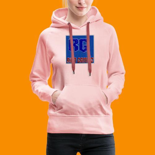logoRiKa Gaming - Sweat-shirt à capuche Premium pour femmes