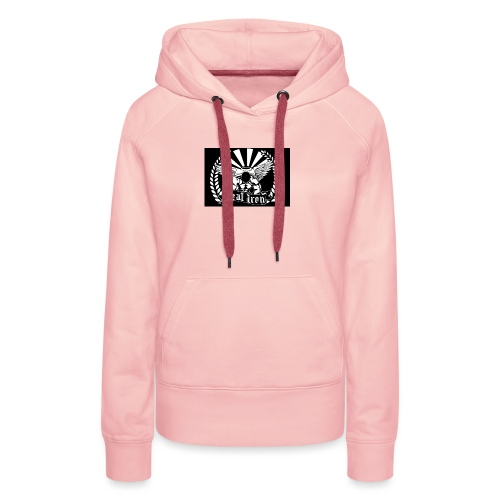Logo Ironwear - Frauen Premium Hoodie