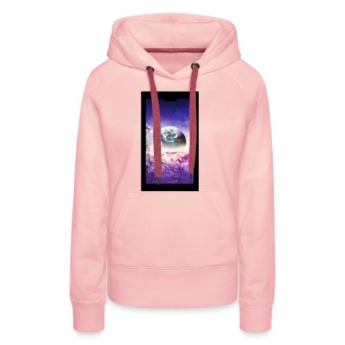Univers - Sweat-shirt à capuche Premium pour femmes