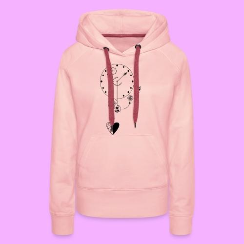 L'amour - Sweat-shirt à capuche Premium pour femmes