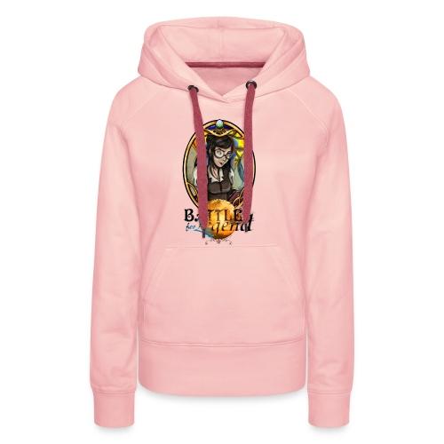 Battle for Legend : Surdouée - Sweat-shirt à capuche Premium pour femmes