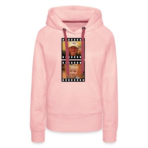 lente tess png - Vrouwen Premium hoodie