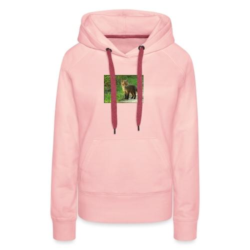 vossen shirt kind - Vrouwen Premium hoodie