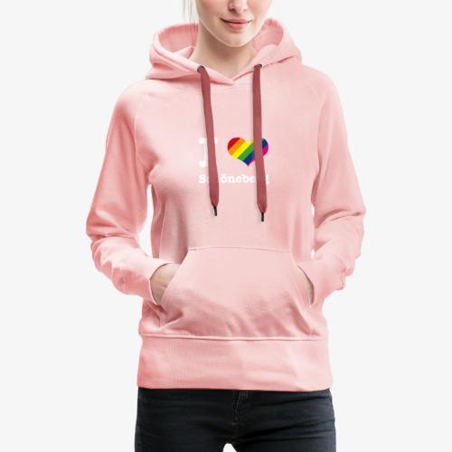 I love Schöneberg Rainbow - Frauen Premium Hoodie