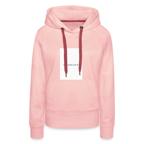 trying out - Vrouwen Premium hoodie