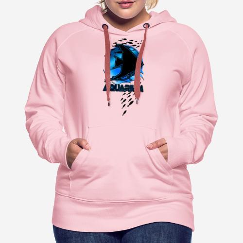 Fish aquarium keeper - Vrouwen Premium hoodie