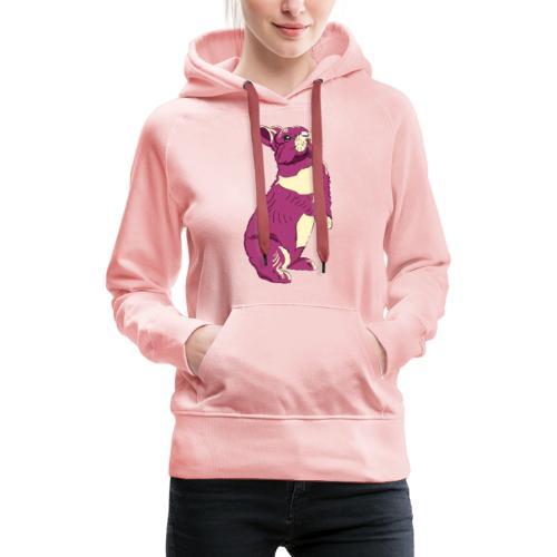 Kaninchen Hasen Häschen Bunny Zwergkaninchen - Frauen Premium Hoodie