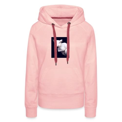 Cat Pow£r - Sudadera con capucha premium para mujer