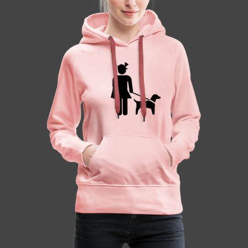 """""""Hundeführerin""""-Jägerinnen Shirt - Frauen Premium Hoodie"""