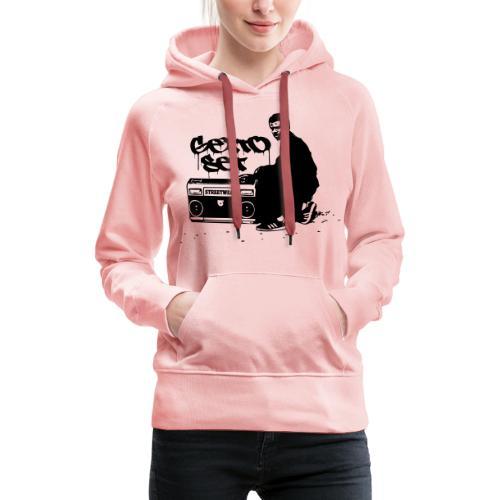 Gettoset Streetwear - Naisten premium-huppari