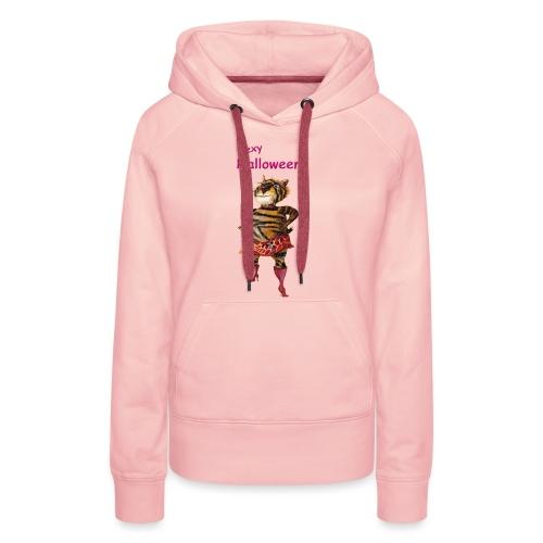 Halloween | sexy Tiger - Frauen Premium Hoodie