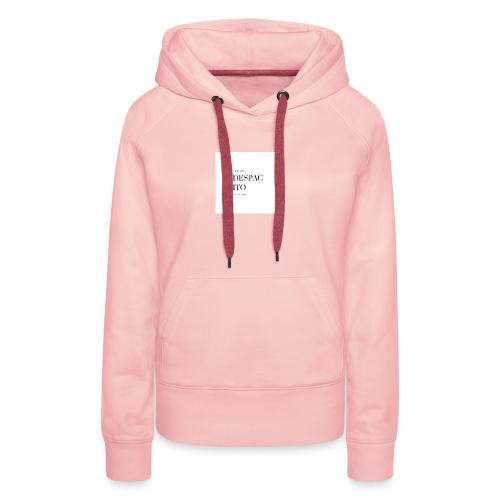 Despacito collection - Sweat-shirt à capuche Premium pour femmes