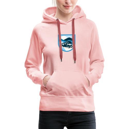 Womoguide-Shirt - Frauen Premium Hoodie