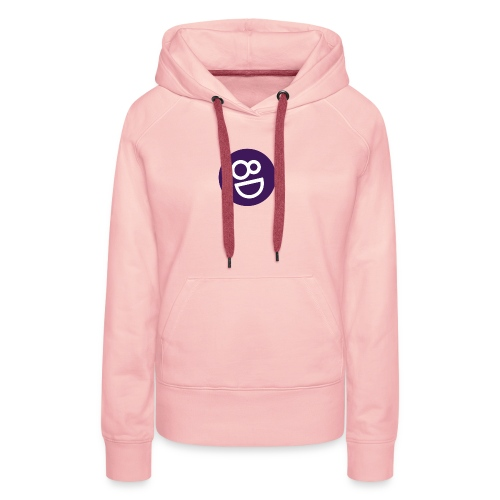 logo 8d - Vrouwen Premium hoodie