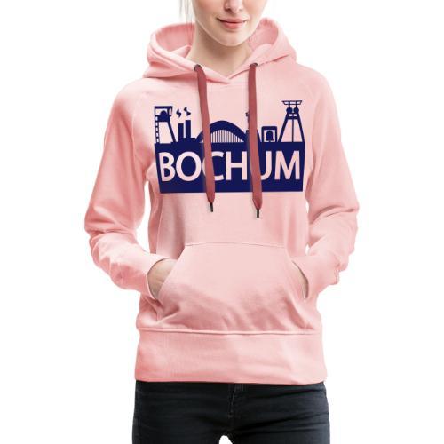 Bochumer Skyline - Frauen Premium Hoodie
