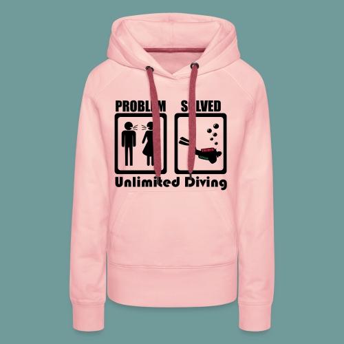 problem - Sweat-shirt à capuche Premium pour femmes