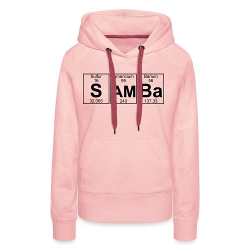 S-Am-Ba (samba) - Full - Women's Premium Hoodie