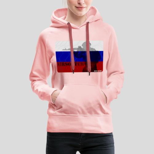 AIRSOFTER RUS - Sudadera con capucha premium para mujer