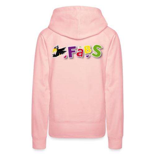 fabslogo trans - Frauen Premium Hoodie