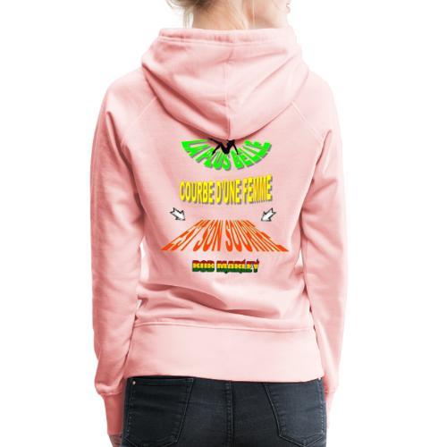 LA PLUS BELLE 👩👍 - Sweat-shirt à capuche Premium pour femmes