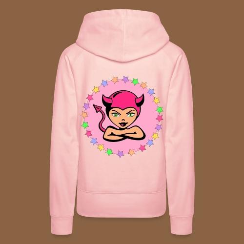 Kawaii Cute Face - Vrouwen Premium hoodie