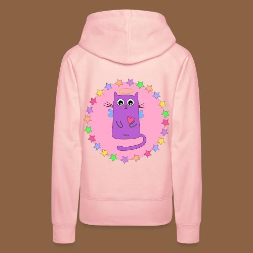 Kawaii Cat - Vrouwen Premium hoodie