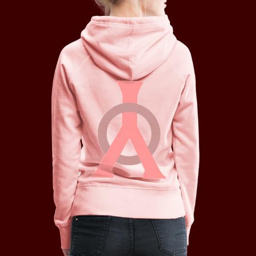 Logo YomBY bs - Sweat-shirt à capuche Premium pour femmes